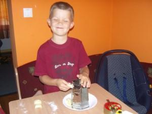 Sütés a gyerekkel