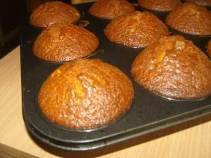Csoki krémes muffin