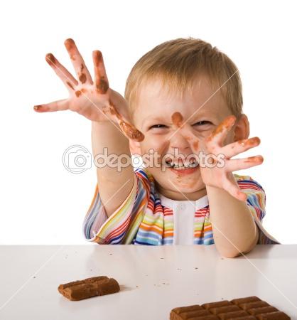 Csokis gyerek
