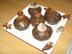Egzotikus csokis muffin