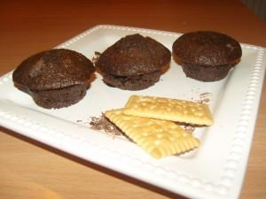 Kekszes csokis muffin