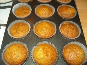 karamellás muffin recept