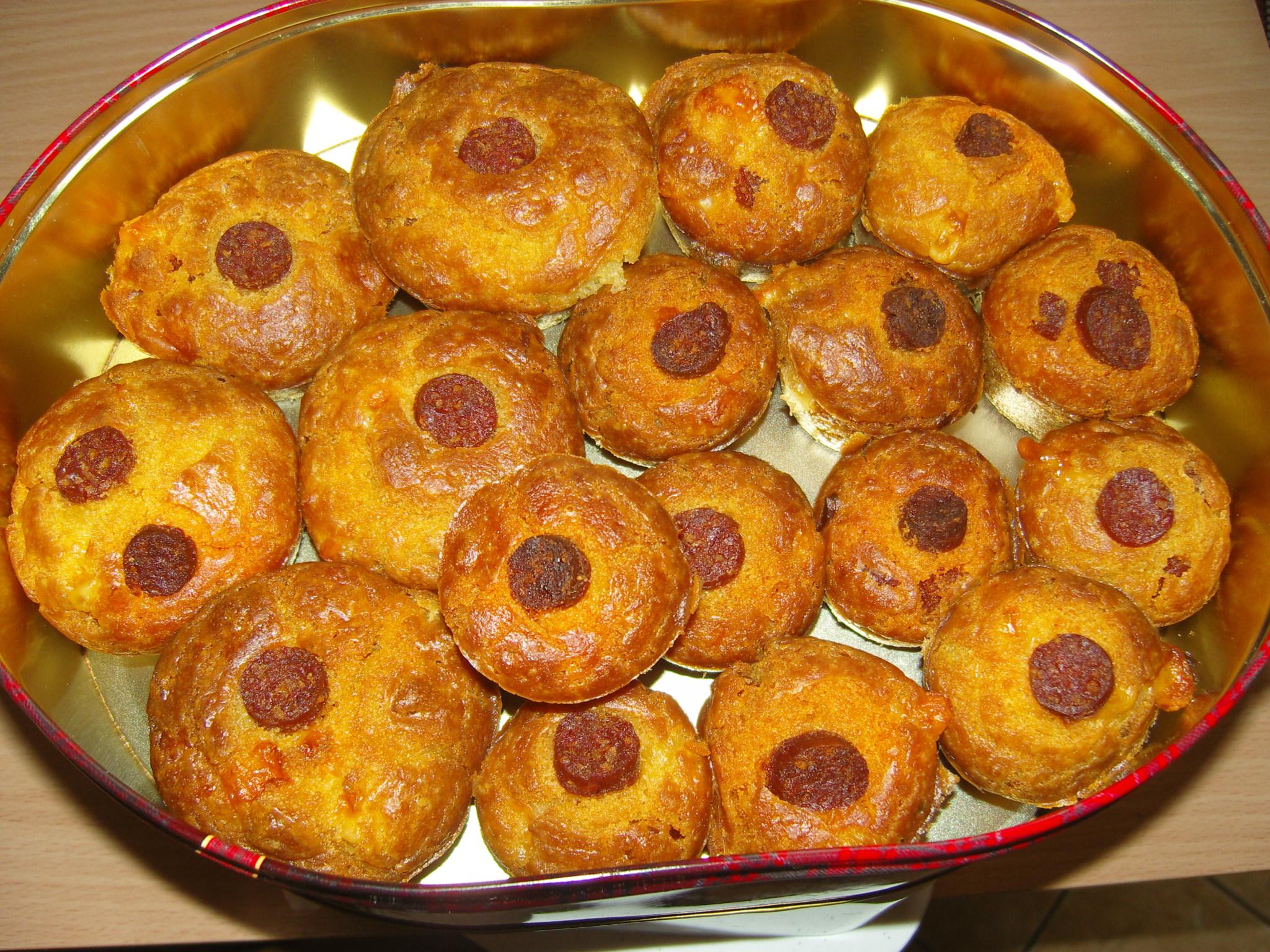 Sós muffin receptek: magyaros muffin