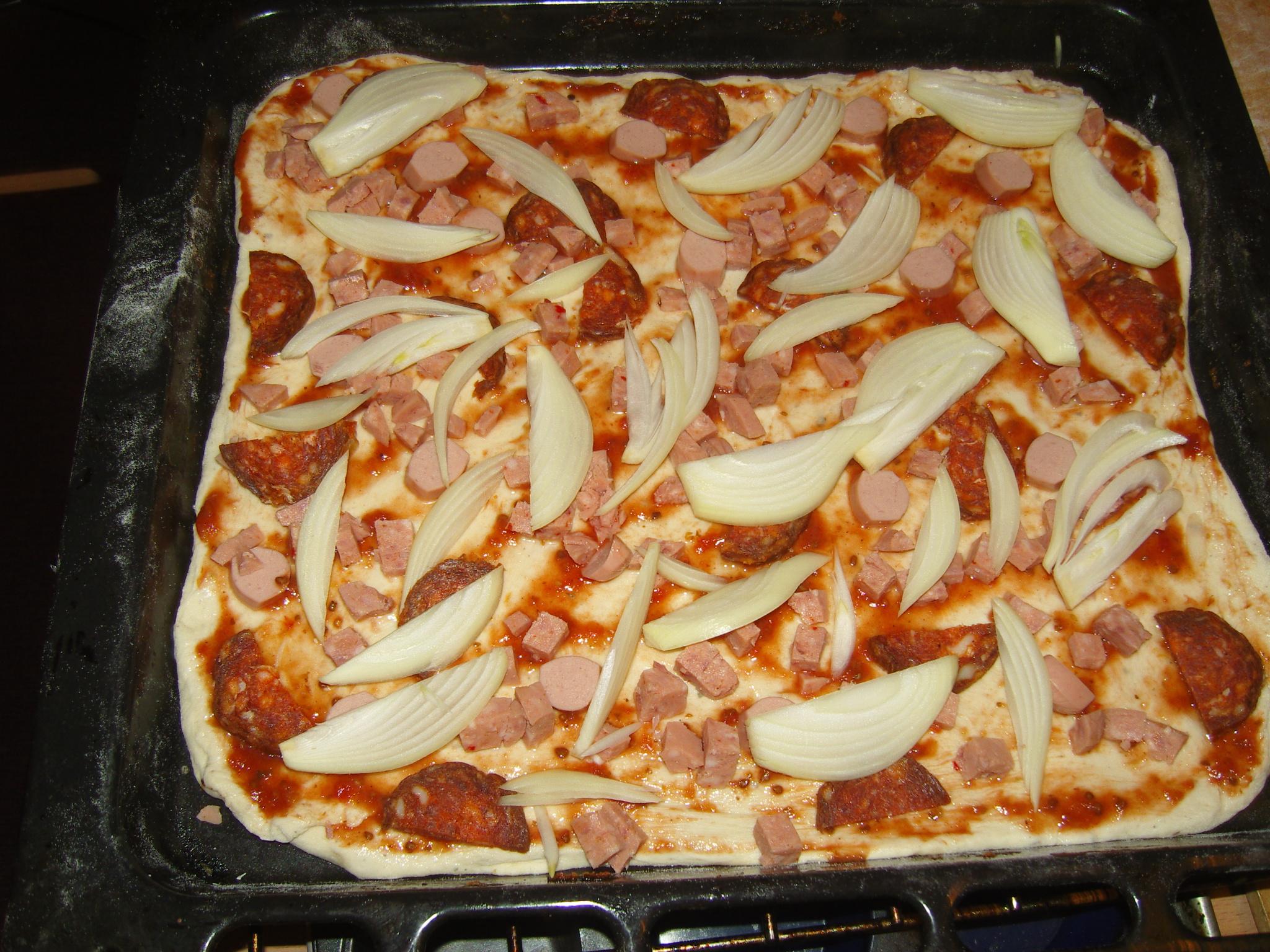 Receptek kenyérsütő géphez: Pizza tészta