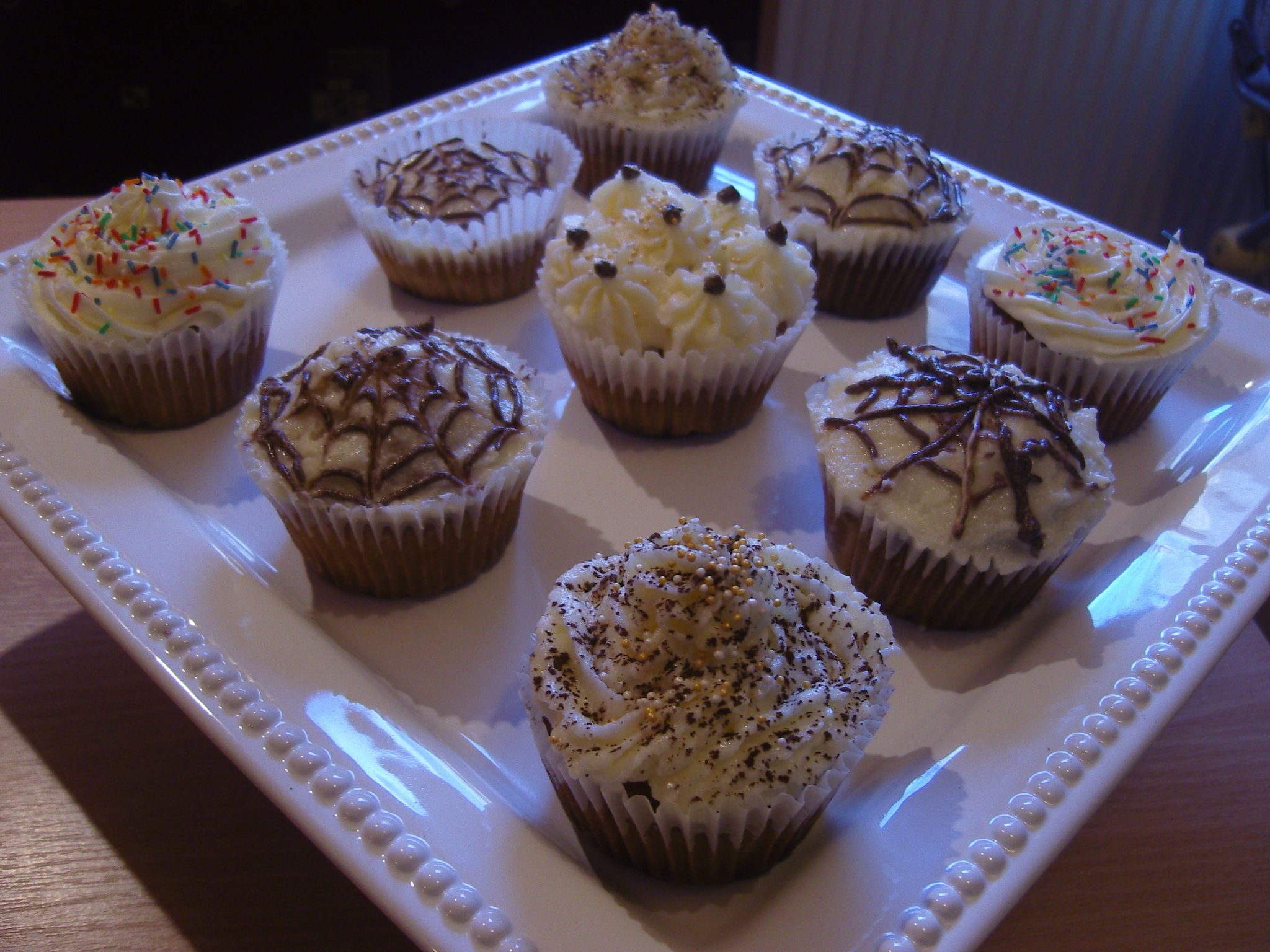 Vaníliás cupcake recept
