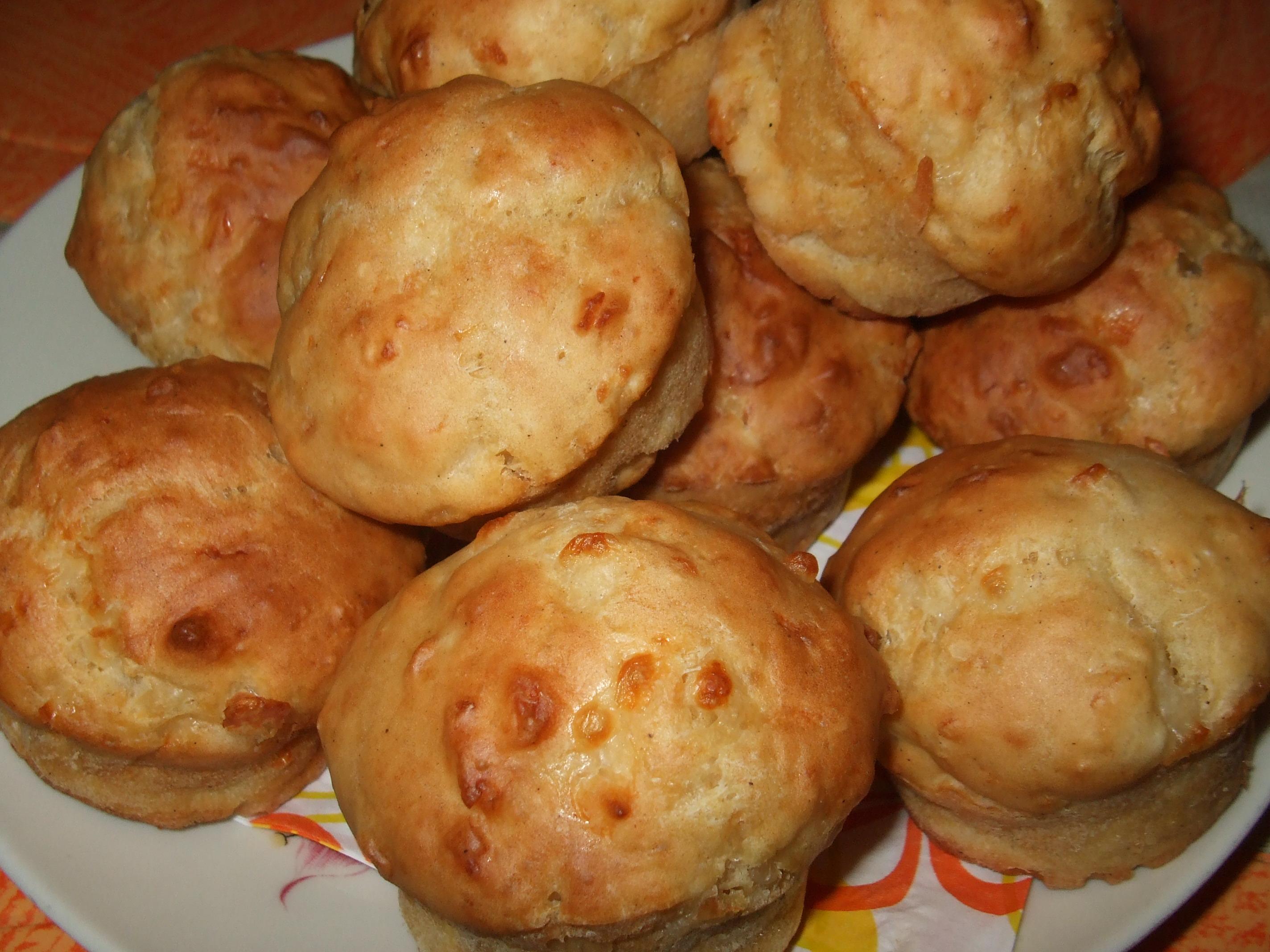 Sajtos muffin recept