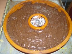 Cukormázas csokis kuglóf
