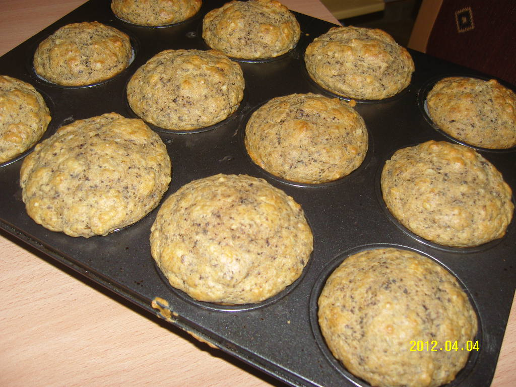 Könnyű diétás diós muffin