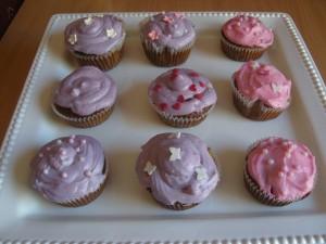 Tavaszi cupcake